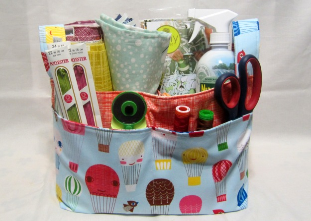 fabric basket whole